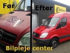 Rengøring og polering af Justesen's bil hos Horsens bilpleje center